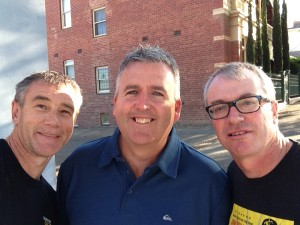"""Mates' of nearly 40 years!"